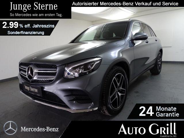 Mercedes-Benz GLC 300 4M AMGline LED Leder AHK 360°Kam Comand, Jahr 2018, Benzin