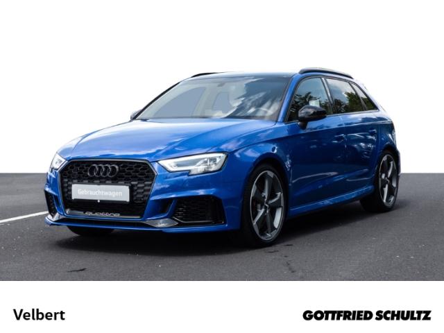 Audi RS3 2.5 TFSI S-TRONIC NAVI LED PANO SHZ GRA ZV, Jahr 2018, Benzin