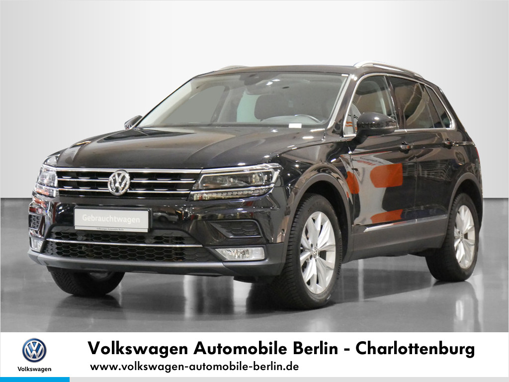 Volkswagen Tiguan 2.0 TDI Highline 4MOTION BMT, Jahr 2016, Diesel