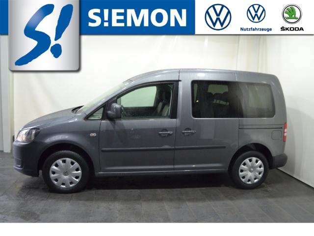 Volkswagen Caddy Kasten Kombi Trendline 1.6 TDI Navi Klimaautom SHZ CD AUX MP3 ESP MAL DPF, Jahr 2013, Diesel