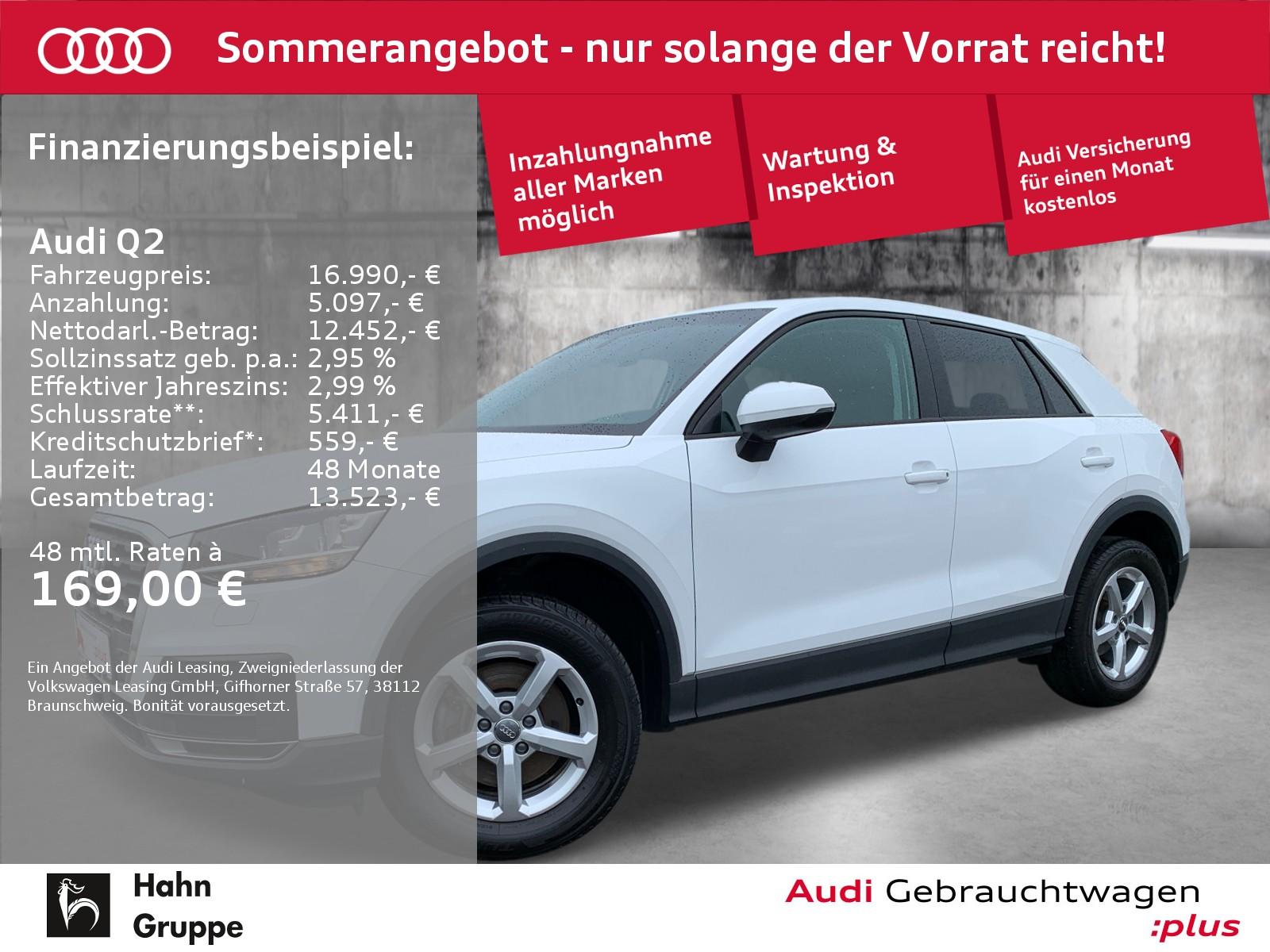 Audi Q2 1.0TFSI Einparkhilfe Sitzheizung Bluetooth, Jahr 2018, Benzin
