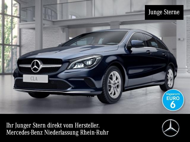 Mercedes-Benz CLA 180 d SB LED Navi Easy-Pack 7G-DCT Sitzh Temp, Jahr 2017, Diesel