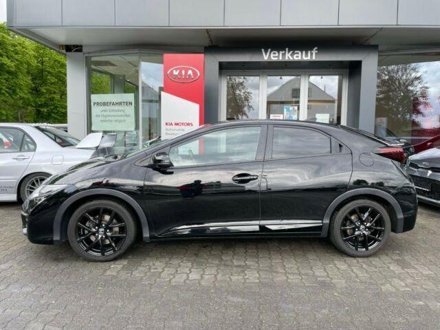 Honda Civic 1.4 i-VTEC Sport*NAVI*PDC*SH*GRA, Jahr 2017, Benzin