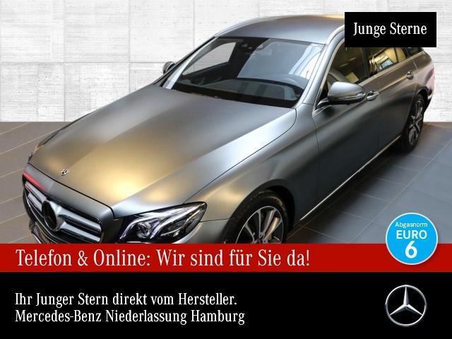 Mercedes-Benz E 400 T 4M Avantgarde Fahrass WideScreen 360° AHK, Jahr 2017, Benzin