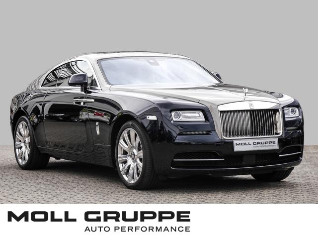 Rolls-Royce Wraith Glass Roof, Full Natural Grain Leather, Jahr 2016, Benzin
