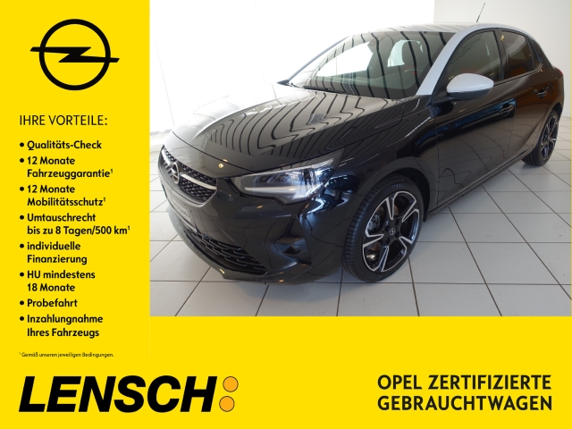 Opel Corsa GS Line 1.2 Turbo PDC+SITZHZG+LED-LICHT+BT, Jahr 2020, Benzin