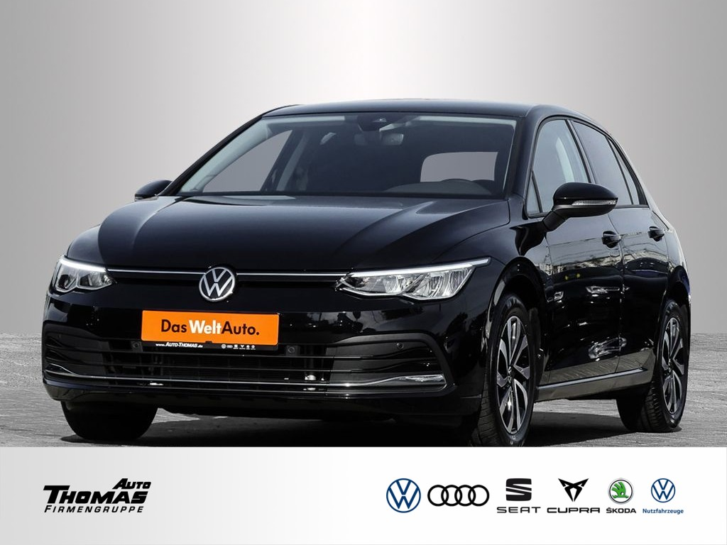 "Volkswagen Golf VIII ""Active"" 1,0 l TSI OPF 81 kW (110 PS) 6-Gang, Jahr 2021, petrol"