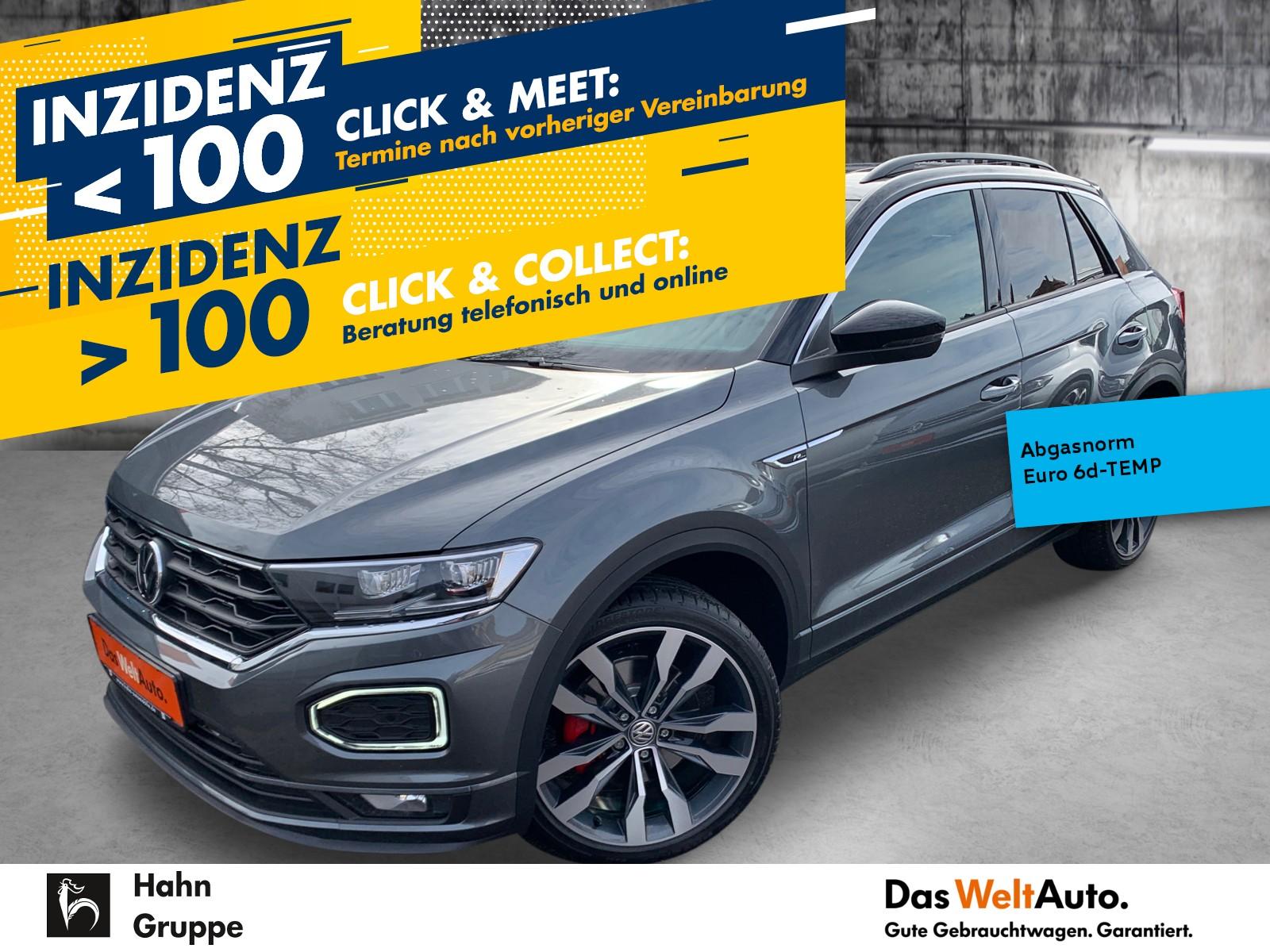 Volkswagen T-Roc R-Line 2.0TSI DSG 4Mot ACC Pano Navi Sitzh, Jahr 2020, Benzin