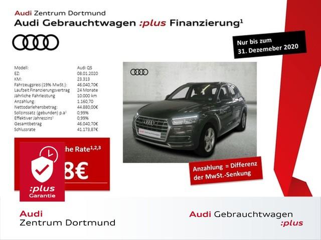 Audi Q5 sport 40TDI qu. ACC/Navi+/Leder/AHK/Massage, Jahr 2020, Diesel