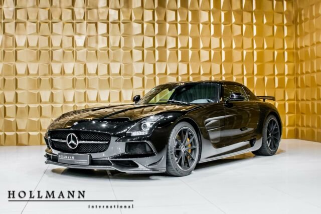 Mercedes-Benz SLS AMG BLACK SERIES Coupé V8 631PS CARBON, Jahr 2013, Benzin