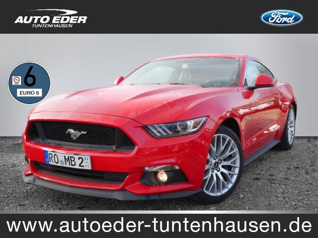 Ford Mustang 5.0 Ti-VCT V8 Fastback GT Sportpaket Navi, Jahr 2015, petrol