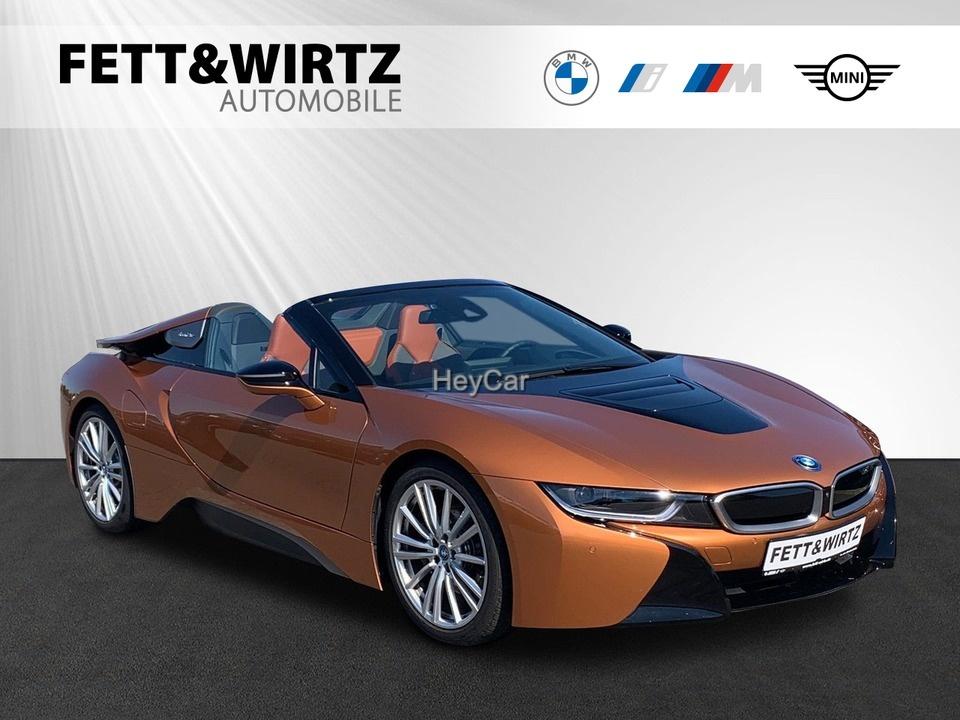 BMW i8 Roadster HUD NaviProf. 20'' LED DA SHZ PDC, Jahr 2019, Hybrid