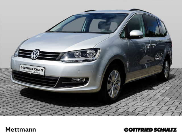 Volkswagen Sharan 1 4 TSI 7-Sitzer NAVI PDC SHZ Comfortline, Jahr 2015, Benzin