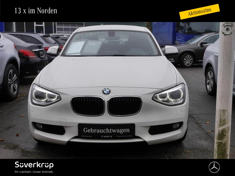BMW 118d Avantage Navi Prof. Xenon Leder SHZ, Jahr 2013, Diesel