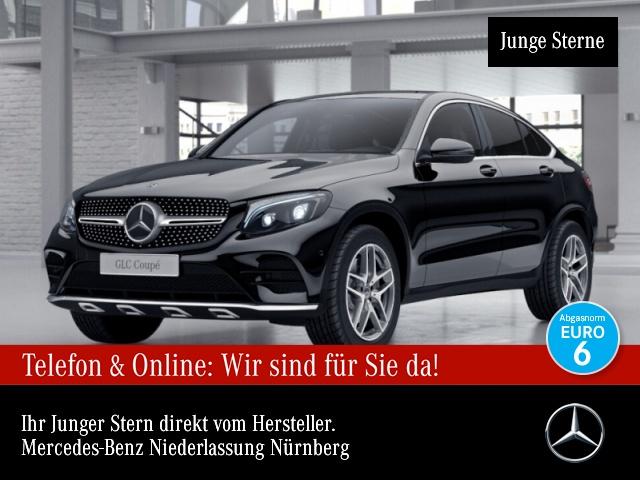 Mercedes-Benz GLC 250 d Cp. 4M AMG Fahrass Distr. COMAND ILS LED, Jahr 2017, Diesel