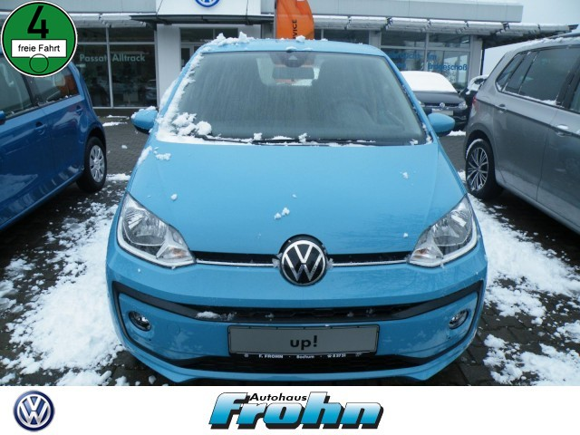 Volkswagen up! (EURO 6d) Klima Sitzheizung Fenster el., Jahr 2021, Benzin