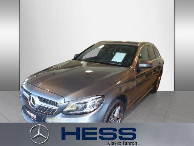 Mercedes-Benz C 300 d 4M T AMG+Sitzklima+Comand+Distronic, Jahr 2018, Diesel