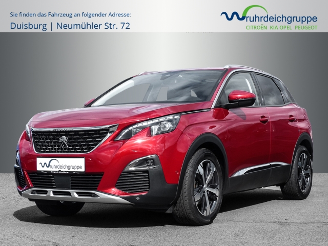 Peugeot 3008 Allure 1.2 PureTech Klimaauto PDC SHZ, Jahr 2018, Benzin