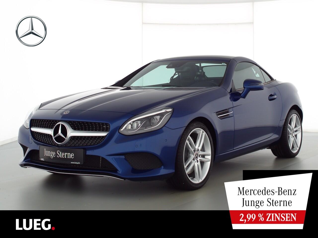 Mercedes-Benz SLC 200 SportPkt+LED-ILS+PanoV+AIRSCARF+Totw+PTS, Jahr 2020, Benzin