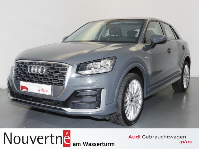 Audi Q2 1.4 TFSI CoD design S-Line Navi OpenSky, Jahr 2017, Benzin