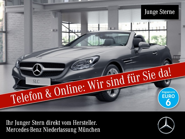 Mercedes-Benz SLC 250 d Pano COMAND Kamera EDW PTS 9G Sitzh Temp, Jahr 2017, Diesel