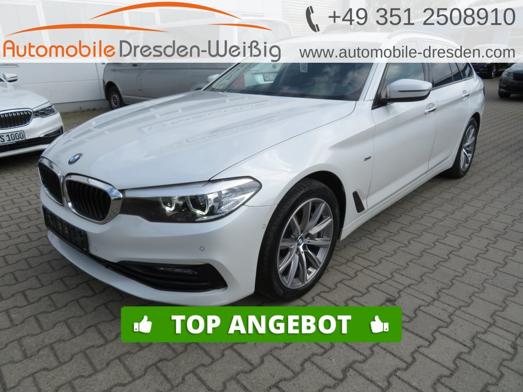 BMW 530 d Touring xDrive Sport Line*Navi*Leder*HiFi*, Jahr 2018, Diesel