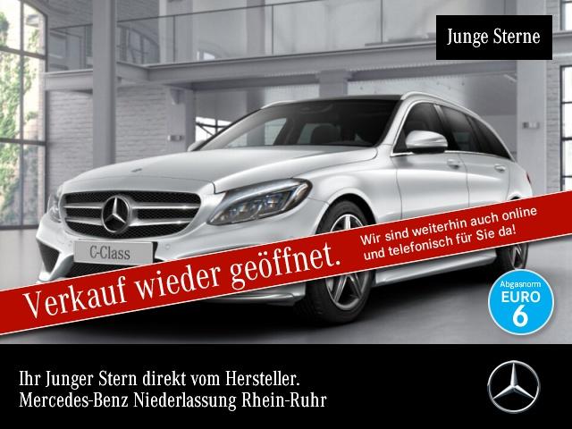 Mercedes-Benz C 300 T BT Hybrid AMG Airmat Stdhzg Pano Burmester, Jahr 2015, Diesel
