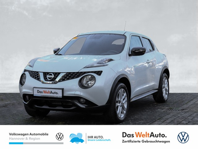 Nissan Juke 1.2 DIG-T Acenta 4x2 Navi Kamera Klima, Jahr 2015, Benzin