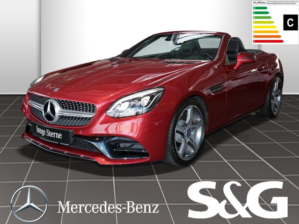 Mercedes-Benz SLC 300 AMG-LINE PanoDach/COMAND/LED/Sitzheizung, Jahr 2016, Benzin