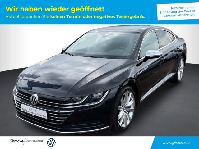 Volkswagen Arteon 2.0 TDI DSG Elegance Leder Navi Keyless Multif.Lenkrad RDC Alarm Klimaautom, Jahr 2017, Diesel