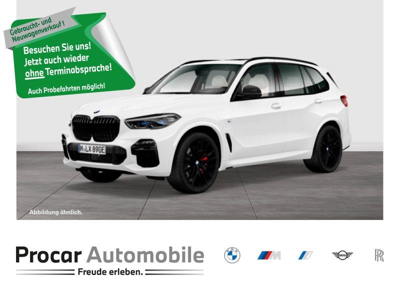 BMW X5 xDrive45e M SPORT PANO SKY LOUNGE FOND ENTERTAIN 22 ALU, Jahr 2020, Hybrid