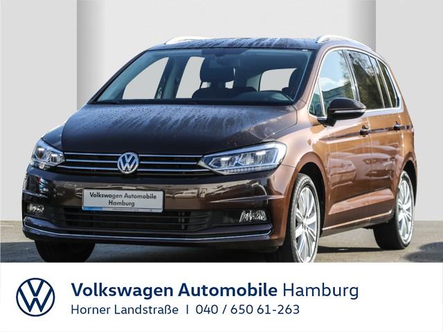 Volkswagen Touran 1.4TSI DSG Highline Navi ACC Einparkhilfe, Jahr 2017, Benzin