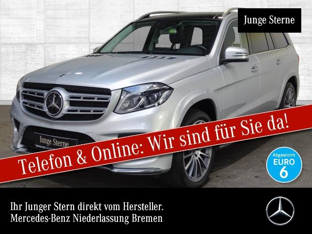 Mercedes-Benz GLS 500 4M AMG 360° Stdhzg Pano Harman Distr. 9G, Jahr 2018, Benzin