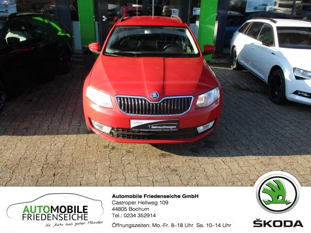 Skoda Octavia 2.0 TDI Elegance Green tec Navi Tel.-Vorb. Spiegel-aut.-abl. Knieairbag RDC Klimaautom, Jahr 2013, Diesel