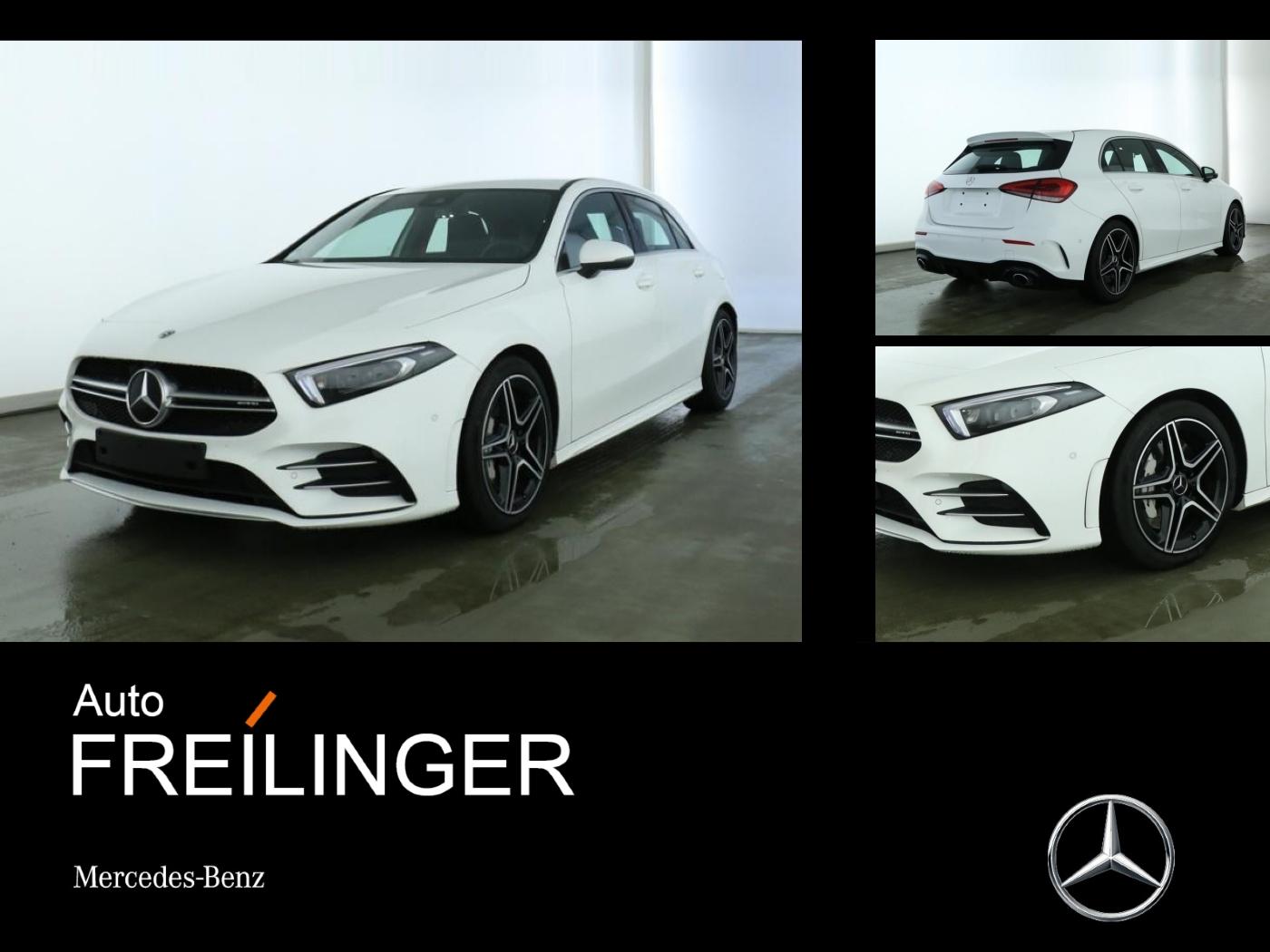Mercedes-Benz A 35 4-MATIC AMG Multibeam Standh. Burmester Des, Jahr 2019, Benzin