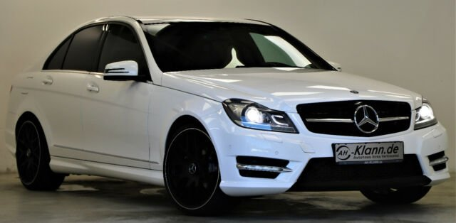 Mercedes-Benz C 200 CDI 136PS 7G-Tronic AMG-Line Navi PDC, Jahr 2013, Diesel