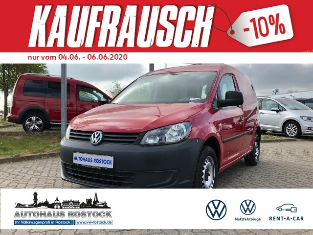 Volkswagen Caddy Kasten EcoPro 2.0 EcoFuel AHK, Jahr 2014, Gas