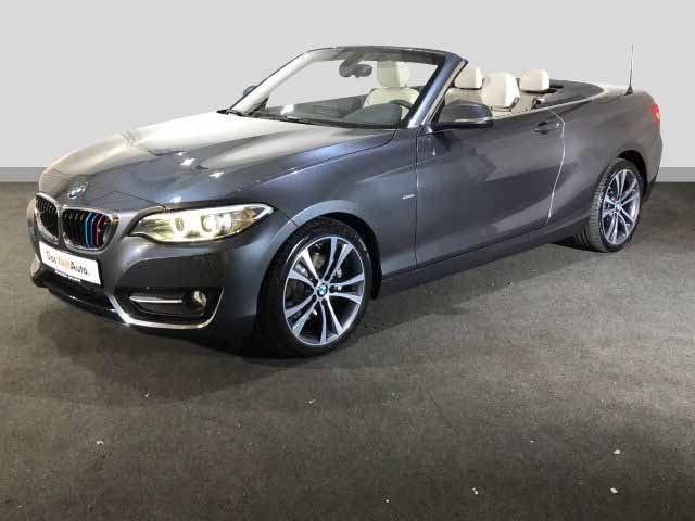 BMW 225 D SPORT LINE 8AT BI-XENON NAVI KAMERA, Jahr 2017, Diesel