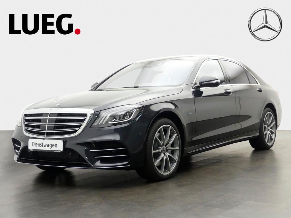 Mercedes-Benz S 560 e L AMG+20''+PANO+DISTR.+MASSAG.-S.+NP140T, Jahr 2020, Hybrid