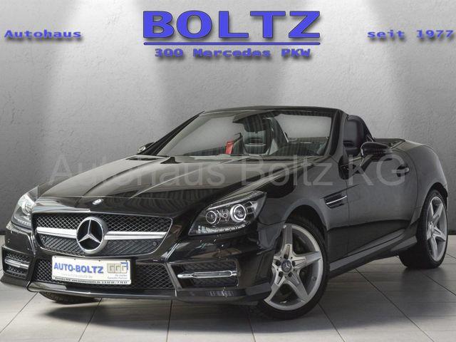 Mercedes-Benz SLK 200 BE AMG L. Navi Klima ASC SHZ BiX ILS, Jahr 2014, Benzin