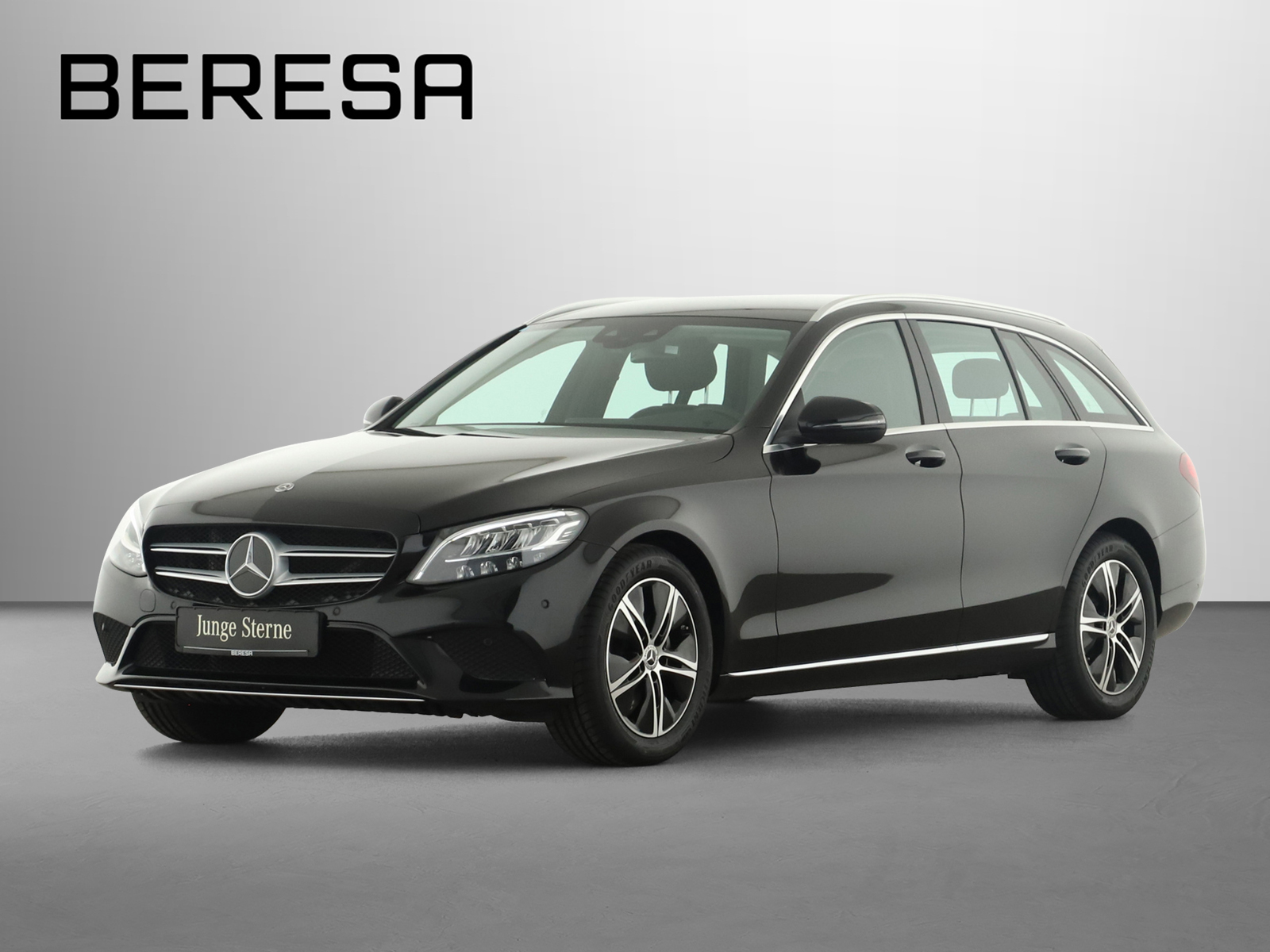 Mercedes-Benz C 180 T Avantgarde Spur-P. LED AHK Kamera Navi, Jahr 2020, Benzin