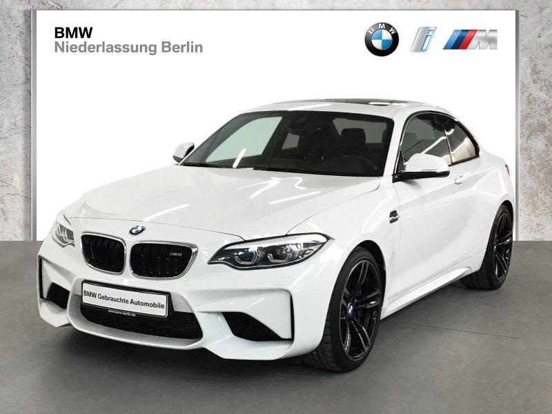 BMW M2 Coupé EU6 DKG Leder LED Navi Prof. Glasdach, Jahr 2018, Benzin