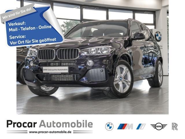 BMW X5 xDrive30d M-Paket HUD Pano AHK RFK DAB h/k, Jahr 2017, Diesel