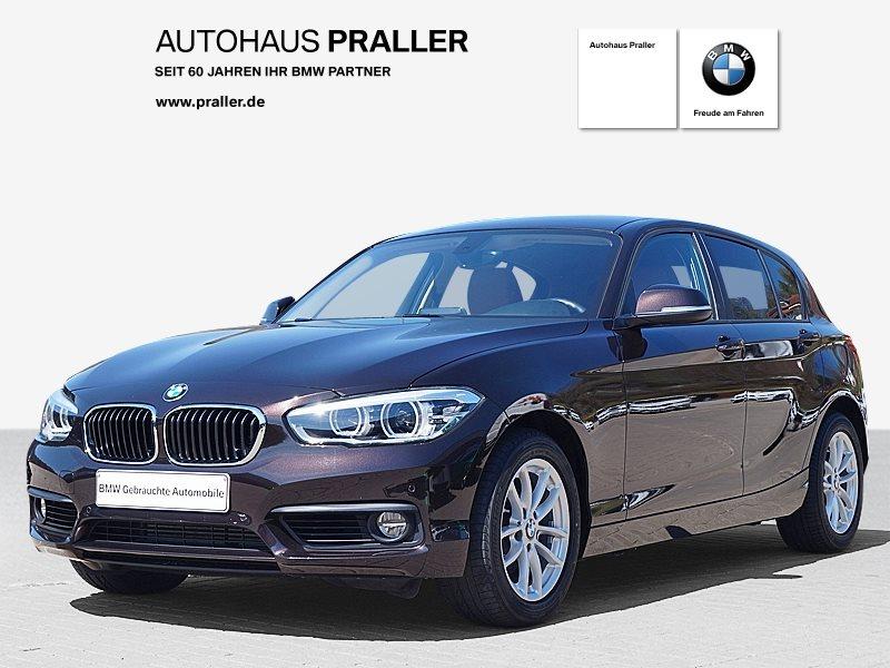 BMW 120d xDrive 5-Türer Advantage DAB LED Navi Bus., Jahr 2018, Diesel
