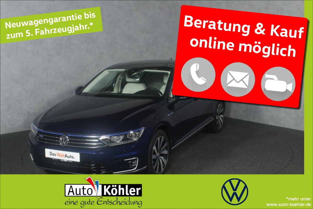 volkswagen passat gte head-up display dcc-fahrwerk r-line, jahr 2018, hybrid