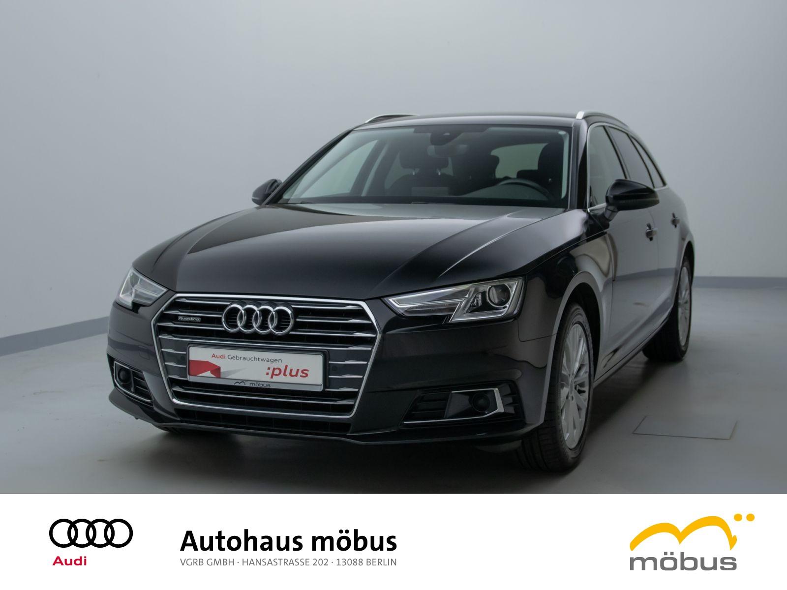 Audi A4 Avant design 2.0 TDI QU*S-TRO*NAV*AHZ*XEN*PDC, Jahr 2018, Diesel