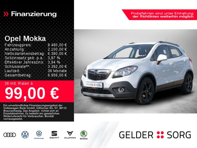 Opel Mokka 1.6 Edition *GRA*ALU*PDC*, Jahr 2013, Benzin