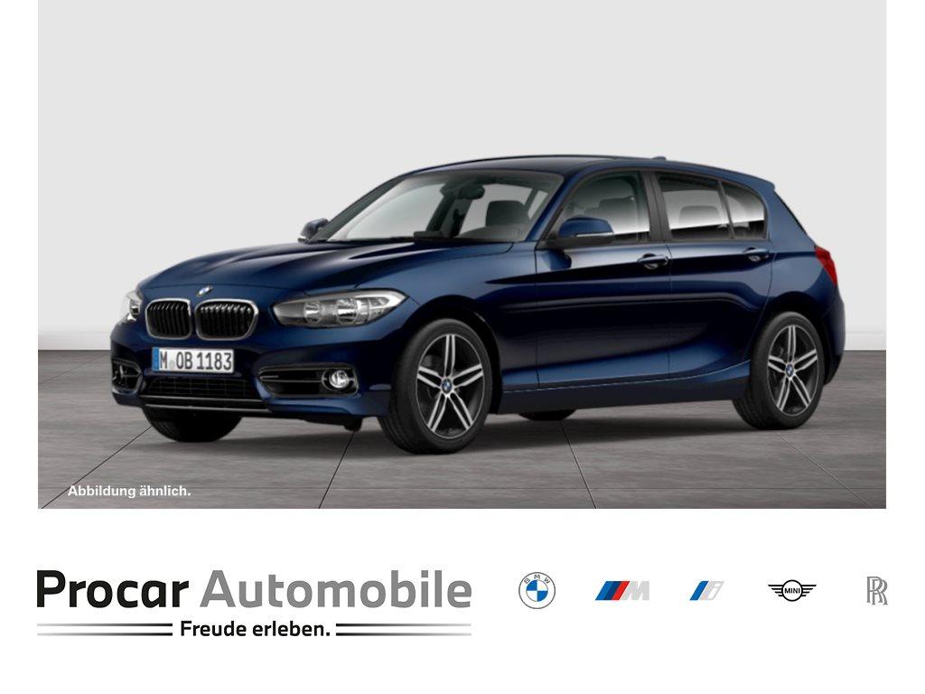 BMW 118d 5-Türer Sport Line Navi Klimaaut. HIFI PDC, Jahr 2016, Diesel
