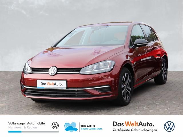 Volkswagen Golf VII 1.0 TSI IQ.DRIVE Navi PDC ACC SHZ BSD, Jahr 2019, Benzin