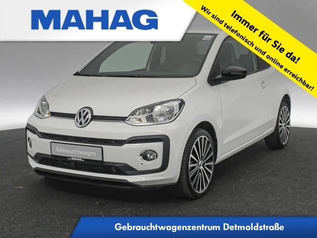 Volkswagen up! 1.0 TSI high maps&moreDock beats Tempomat 17Zoll 5-Gang, Jahr 2017, Benzin